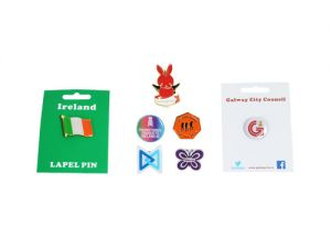 LAPEL PIN BADGES IRELAND