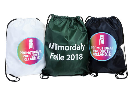 personalised Drawstring Bags ireland