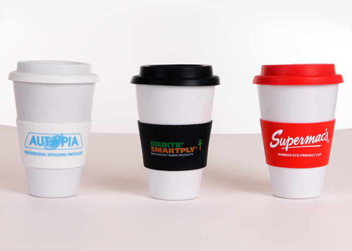 Reusable Printed Coffee Cups
