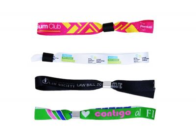 Plain Fabric Wristbands