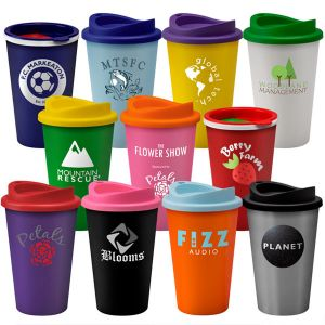 branded travel mugs