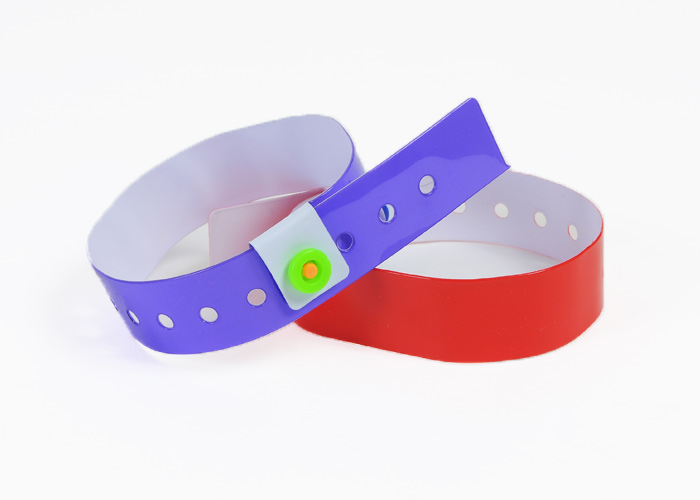Plain Vinyl Wristbands