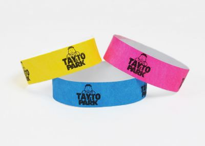 where to buy printed paper wristbands