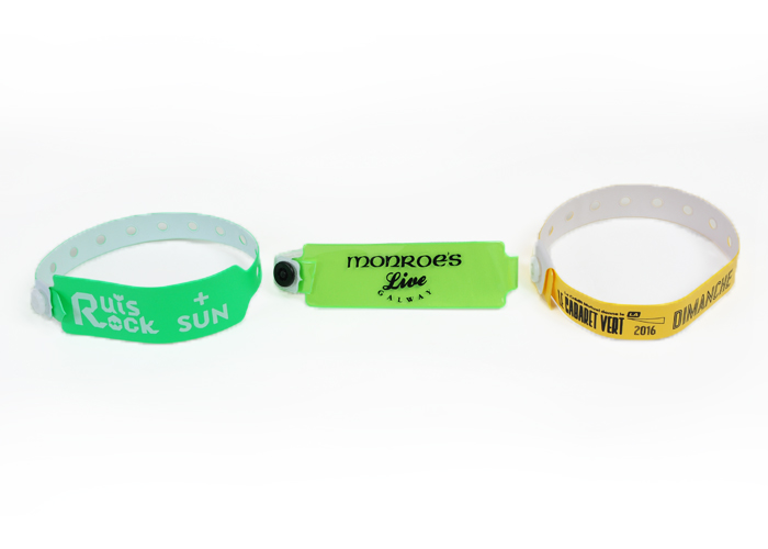 Printed Vinyl Wristbands