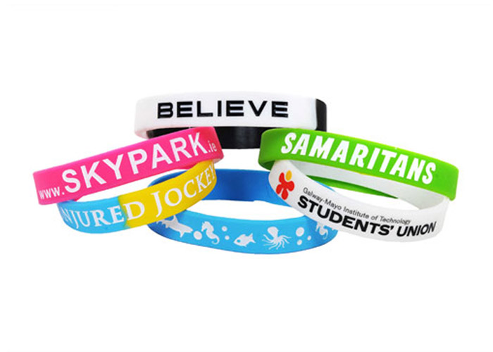 personalised Silicone Wristbands I