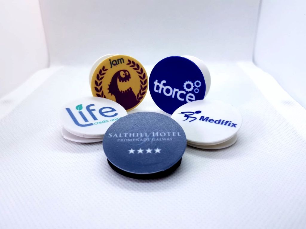 Branded Pop Sockets