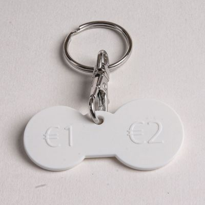 Branded Trolley Keyrings