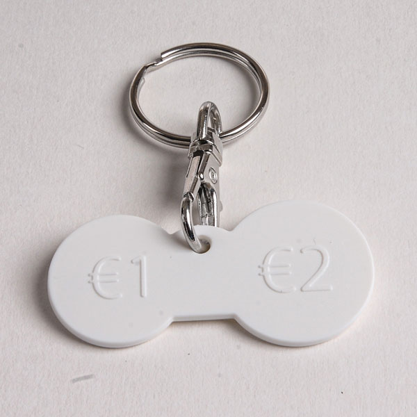 Branded Trolley Keyrings