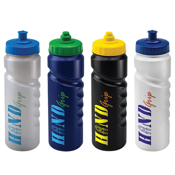 water bottles with company logo