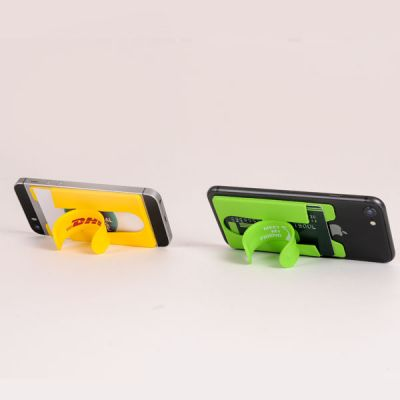 silicone kickstand phone wallet