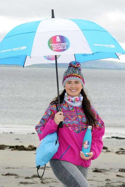 Branded Umbrellas Galway Rose