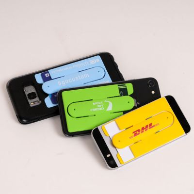 branded wallet phone holder