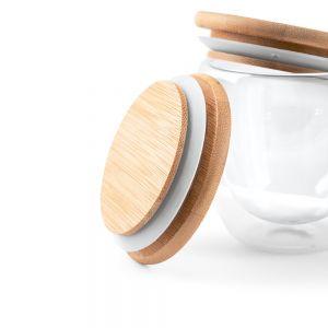 printed glass keep cup